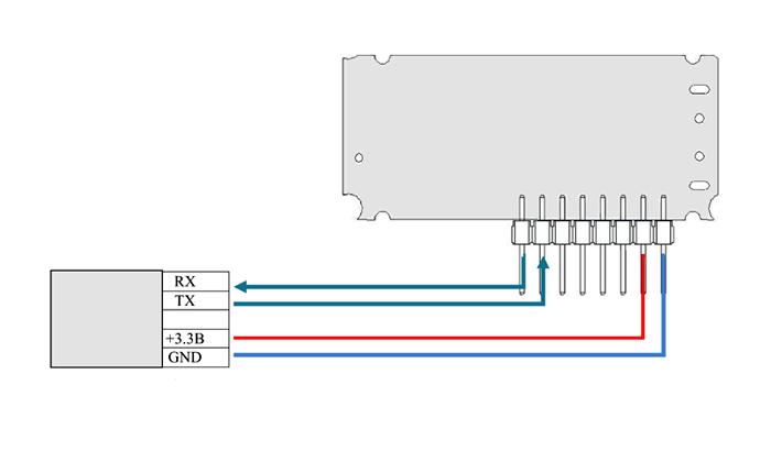 Схема подключения MTRF-64