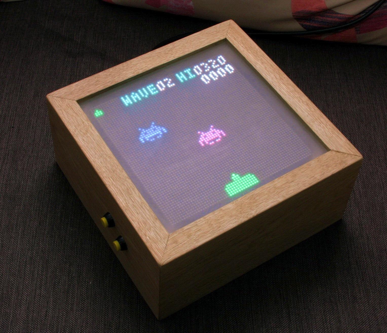 Backspace Invaders или как подключить светодиодный дисплей 64x64 к Arduino - 1