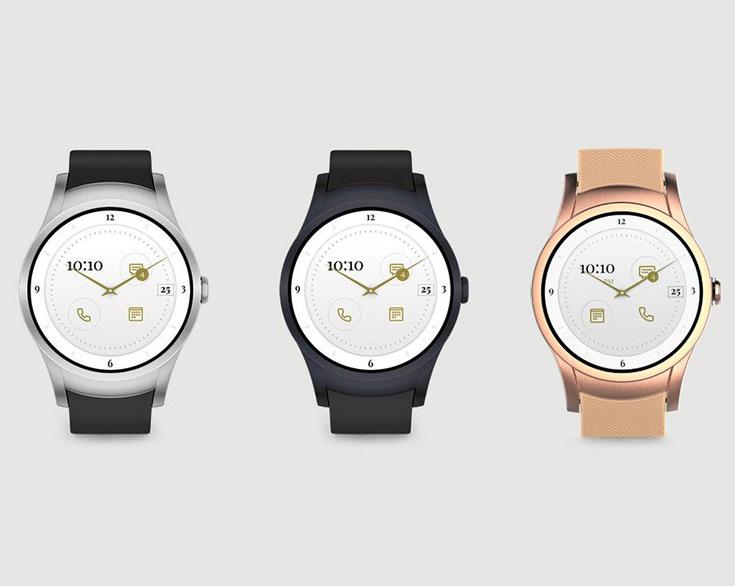 Умные часы Verizon Wear24 с ОС Android Wear 2.0 оснащены круглым дисплеем AMOLED