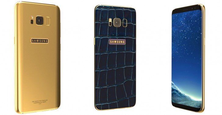 Legend предлагает эксклюзивные версии смартфона Samsung Galaxy S8, который сегодня поступает в продажу