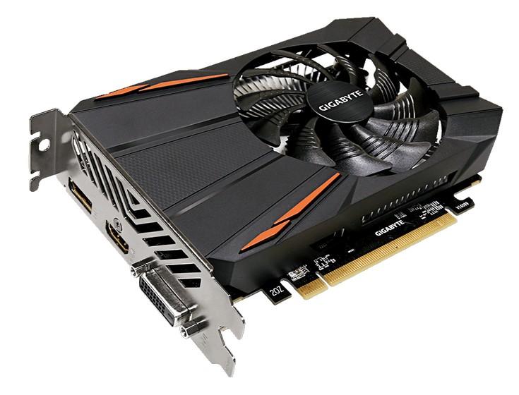 Gigabyte представила пару Radeon RX 550