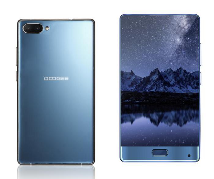 Безрамочному смартфону Doogee Mix приписывают цену не более $200