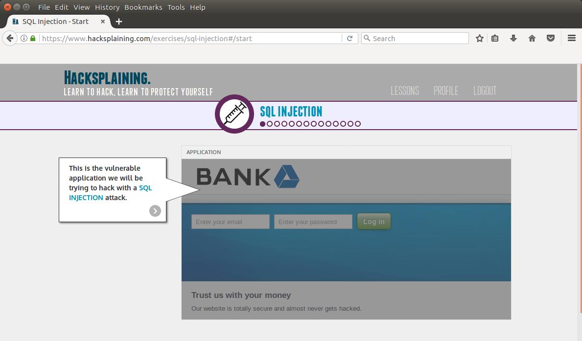 Hacksplaining — интерактивный курс по веб-уязвимостям - 3