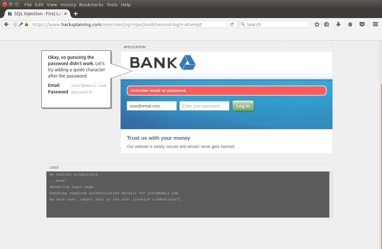 Hacksplaining — интерактивный курс по веб-уязвимостям - 6