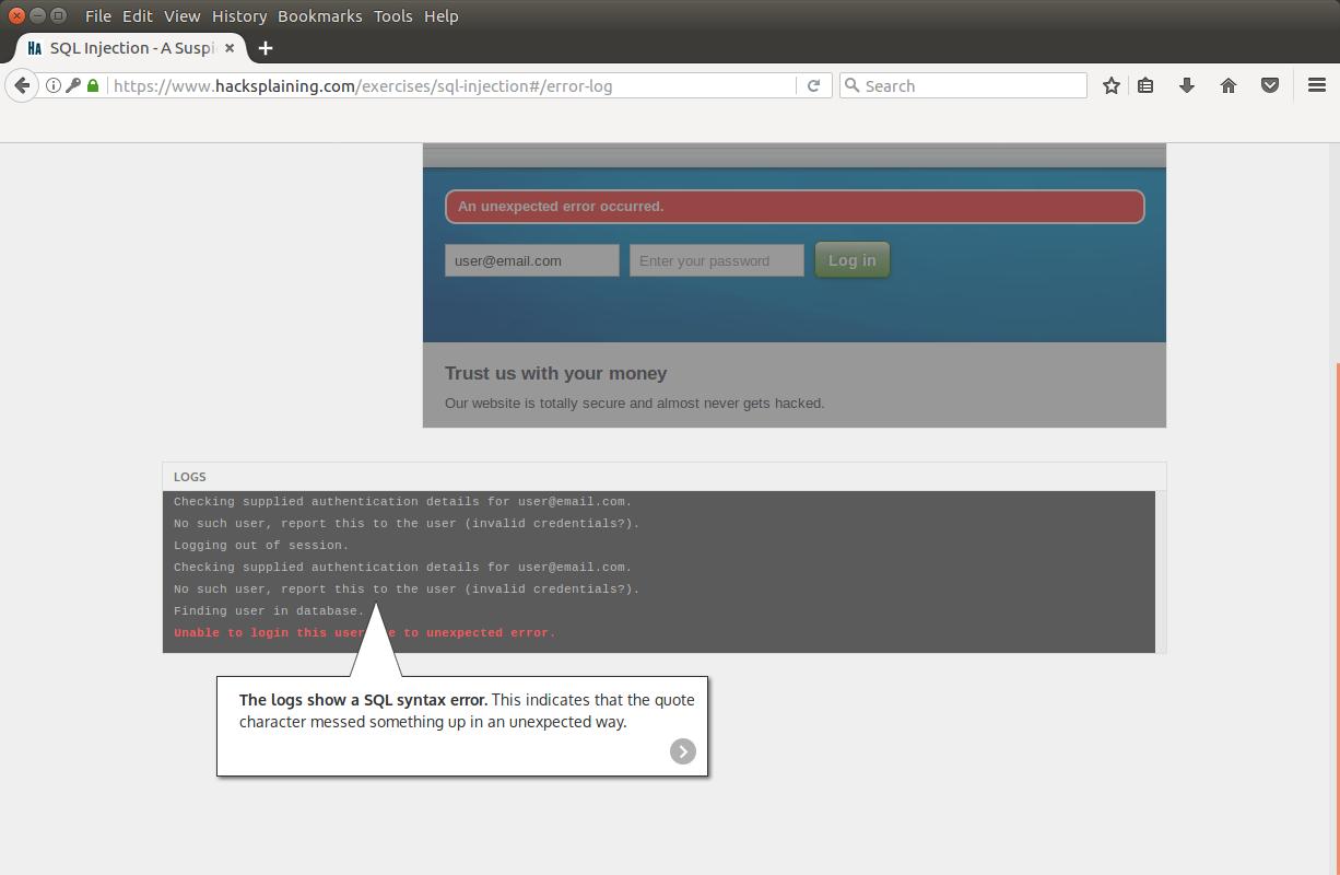 Hacksplaining — интерактивный курс по веб-уязвимостям - 7