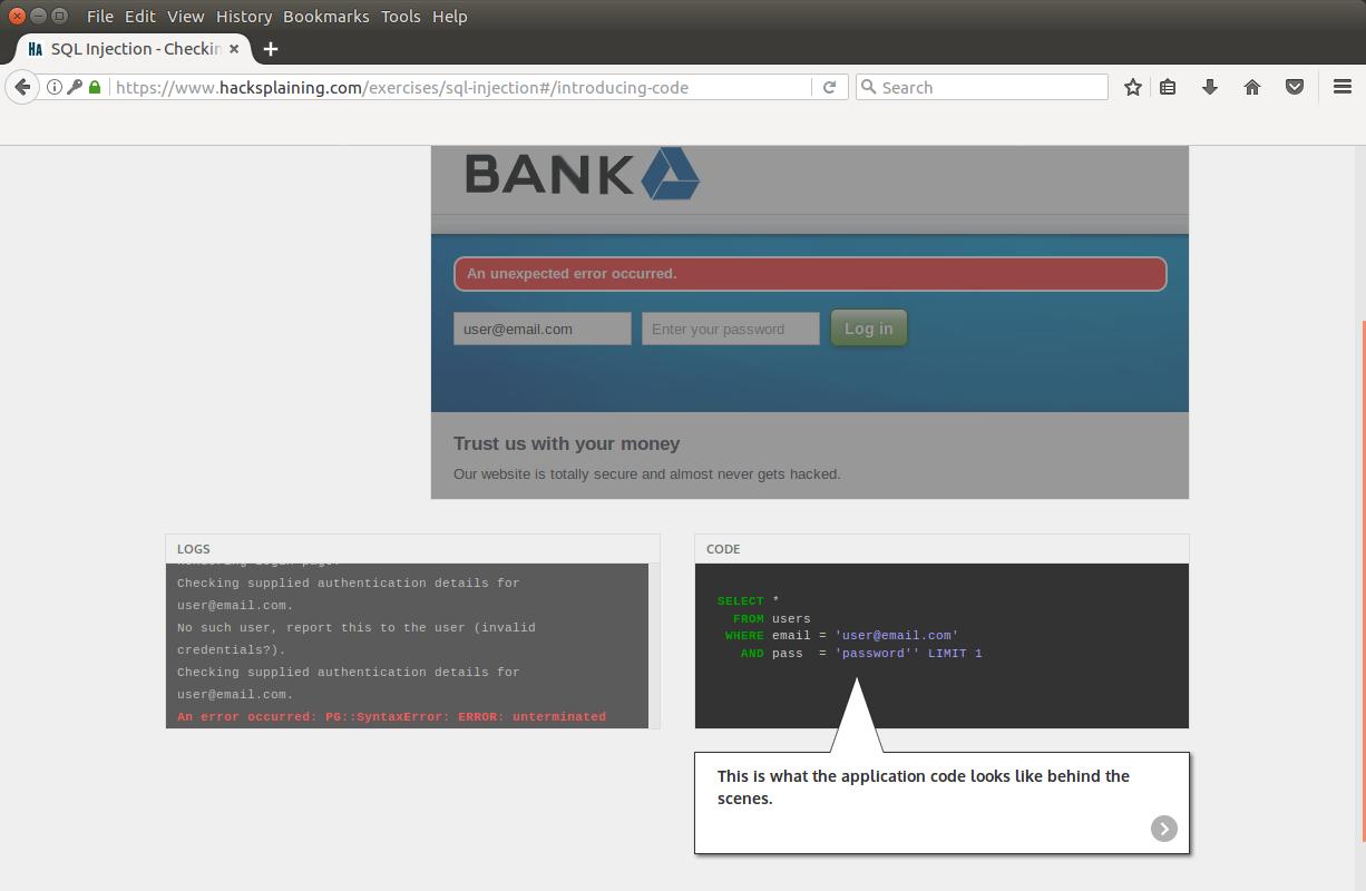 Hacksplaining — интерактивный курс по веб-уязвимостям - 8