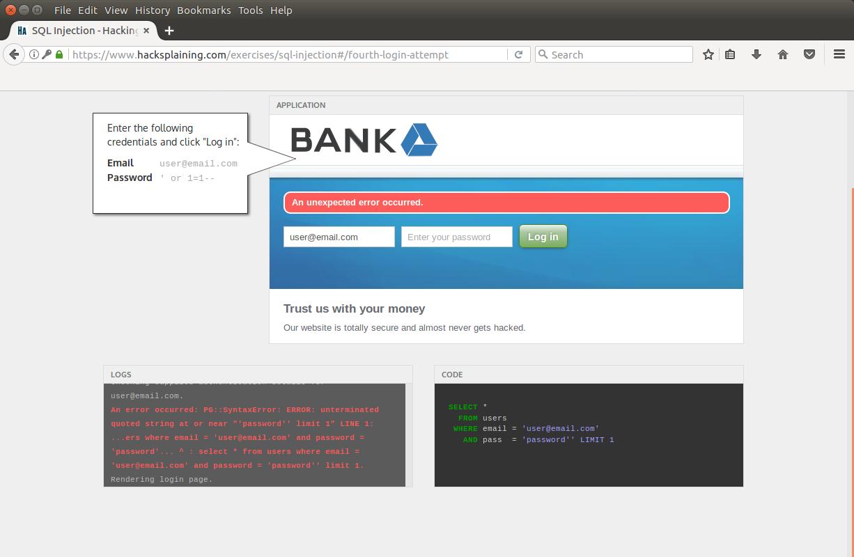 Hacksplaining — интерактивный курс по веб-уязвимостям - 9