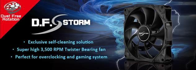 Enermax D.F. Storm — скоростной 120-миллиметровый вентилятор