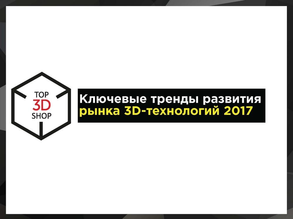 Тенденции развития аддитивных технологий в 2017 — видео - 2