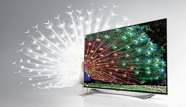 Поставки панелей 4K для телевизоров активно растут