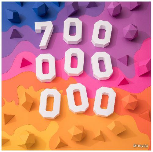 Если темп роста сохранится, скоро число пользователей Instagram перевалит за 1 млрд