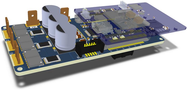 Открытый проект модуля управления электрическими моторами. Начало - 1