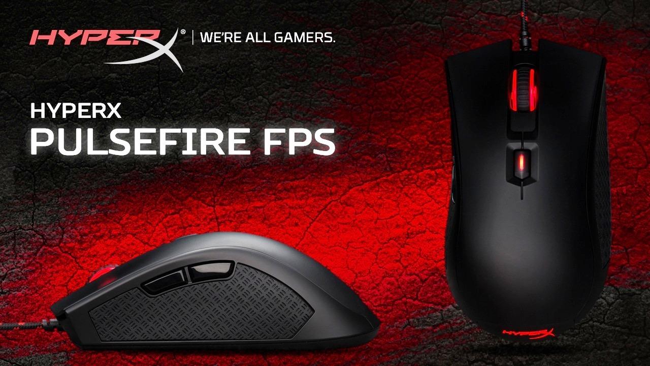 Инструмент для снятия хэдшотов — первая игровая мышь HyperX! Выясняем, что особенного в новой Pulsefire FPS - 1
