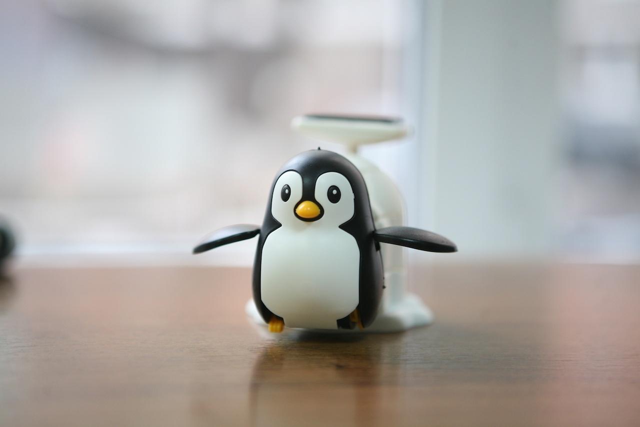 Пингвин на солнечных батареях: забавный конструктор «один в одном» - 1