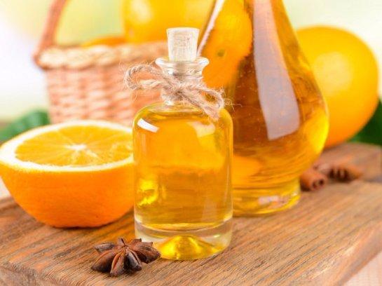 От стресса хорошо помогает апельсиновое масло