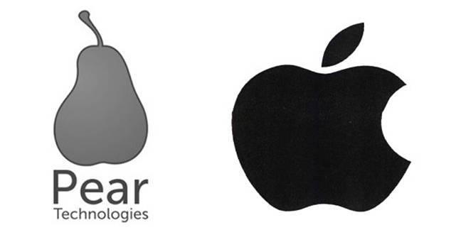 Pear Technologies не смогла зарегистрировать логотип из-за Apple