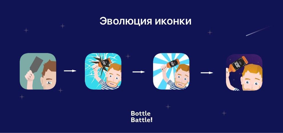 История создания и запуска забавной мобильной игры про разбивание бутылок об голову - 10