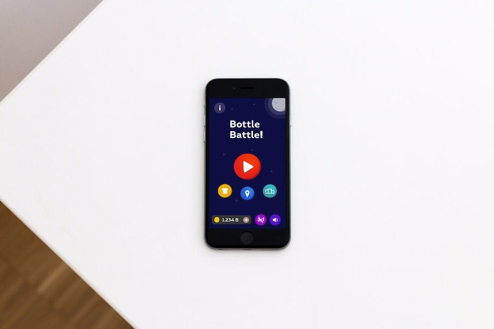 История создания и запуска забавной мобильной игры про разбивание бутылок об голову - 1