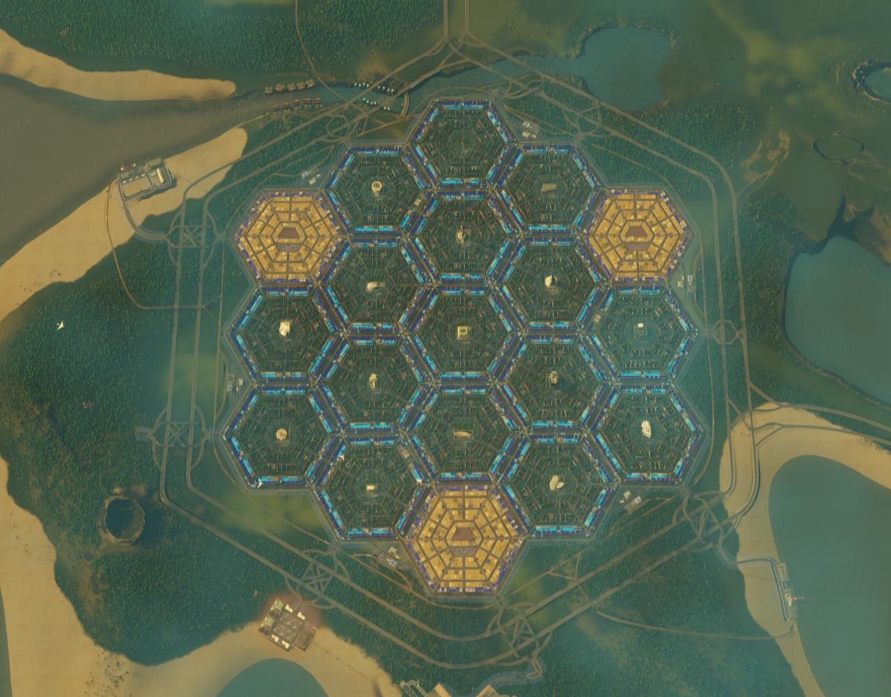 Шестиугольный город - 11
