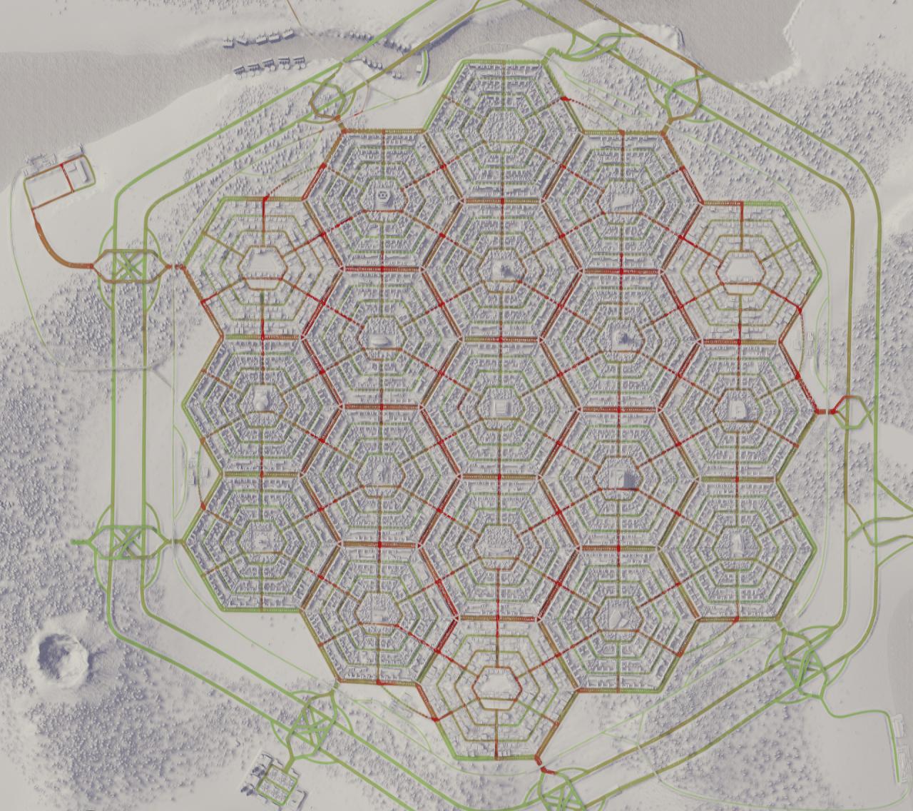 Шестиугольный город - 12