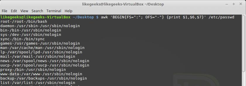 Bash-скрипты, часть 8: язык обработки данных awk - 11