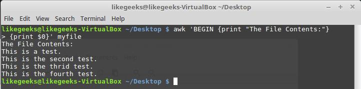 Bash-скрипты, часть 8: язык обработки данных awk - 8