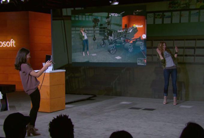 Функция View Mixed Reality появится в Windows 10 осенью