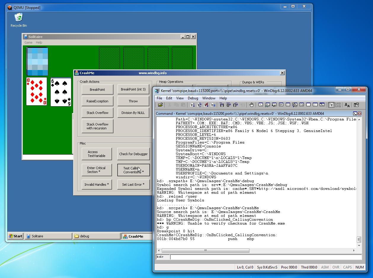 Как удалённо отлаживать через WinDbg не включая отладочный режим Windows - 12