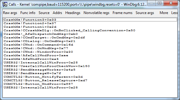 Как удалённо отлаживать через WinDbg не включая отладочный режим Windows - 14