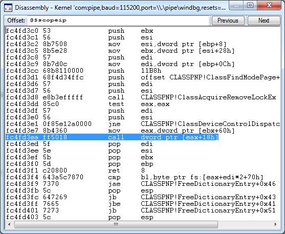 Как удалённо отлаживать через WinDbg не включая отладочный режим Windows - 2