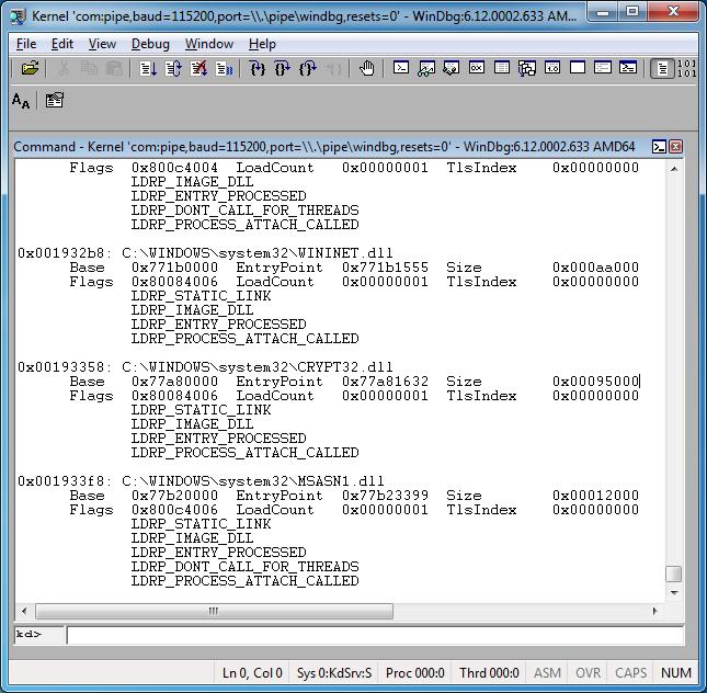 Как удалённо отлаживать через WinDbg не включая отладочный режим Windows - 8