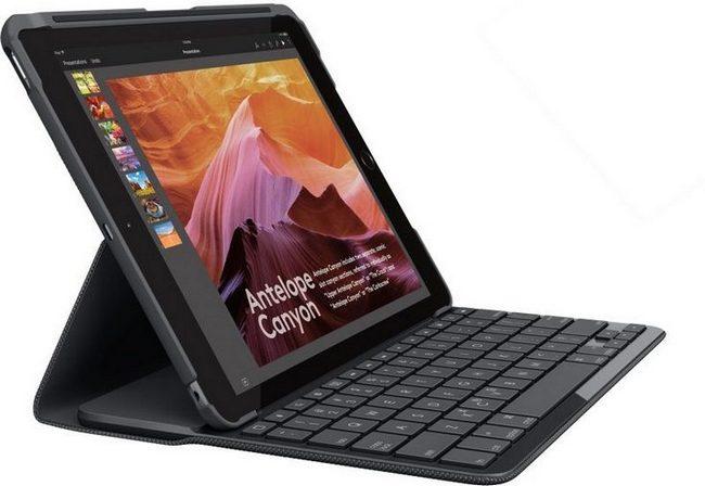 Представлен чехол со встроенной клавиатурой Logitech Slim Folio для iPad