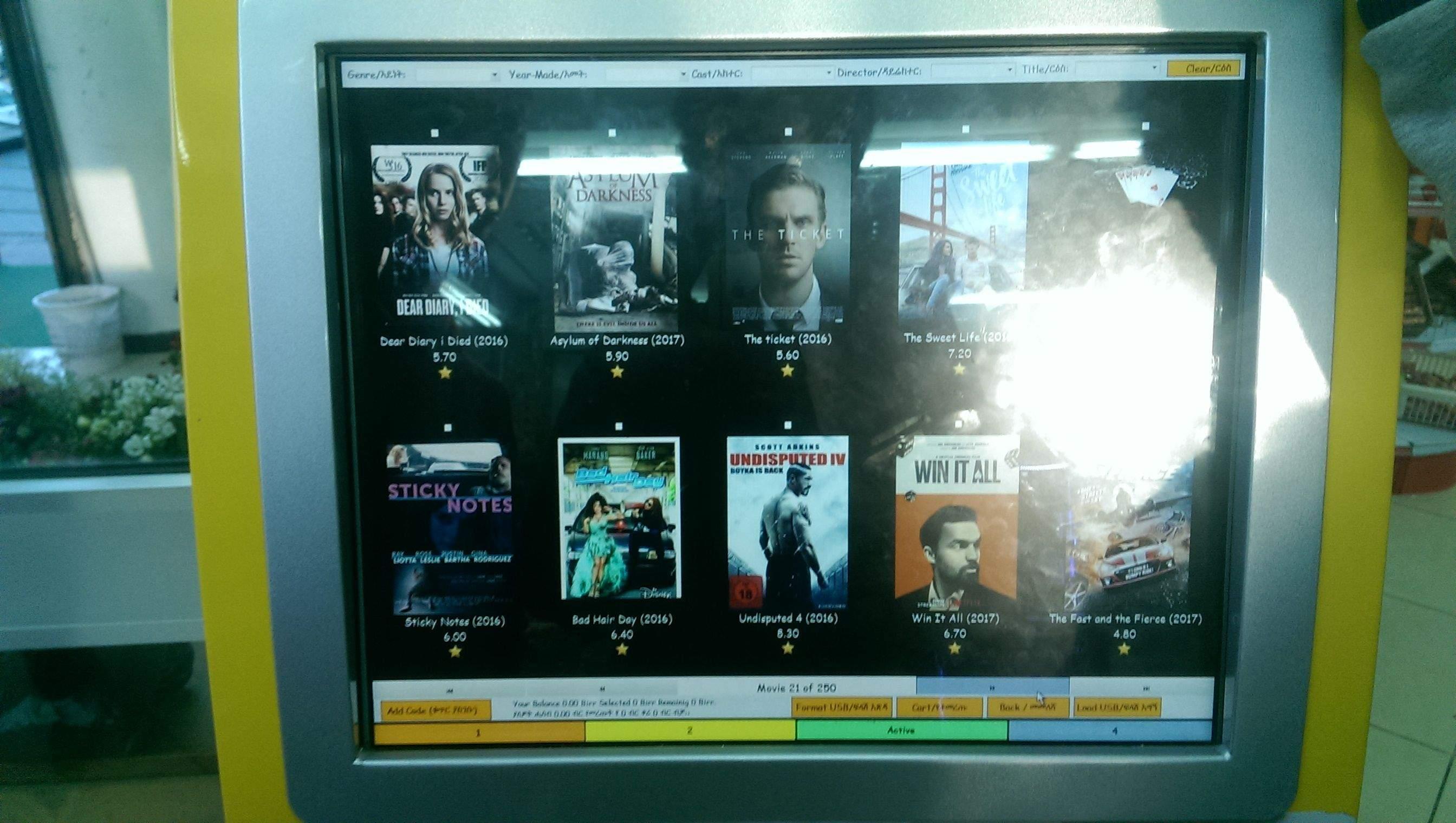 В Эфиопии пиратские фильмы распространяют при помощи терминалов - 3
