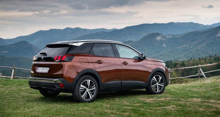 Peugeot будет испытывать технологии для беспилотных авто на кроссовере 3008