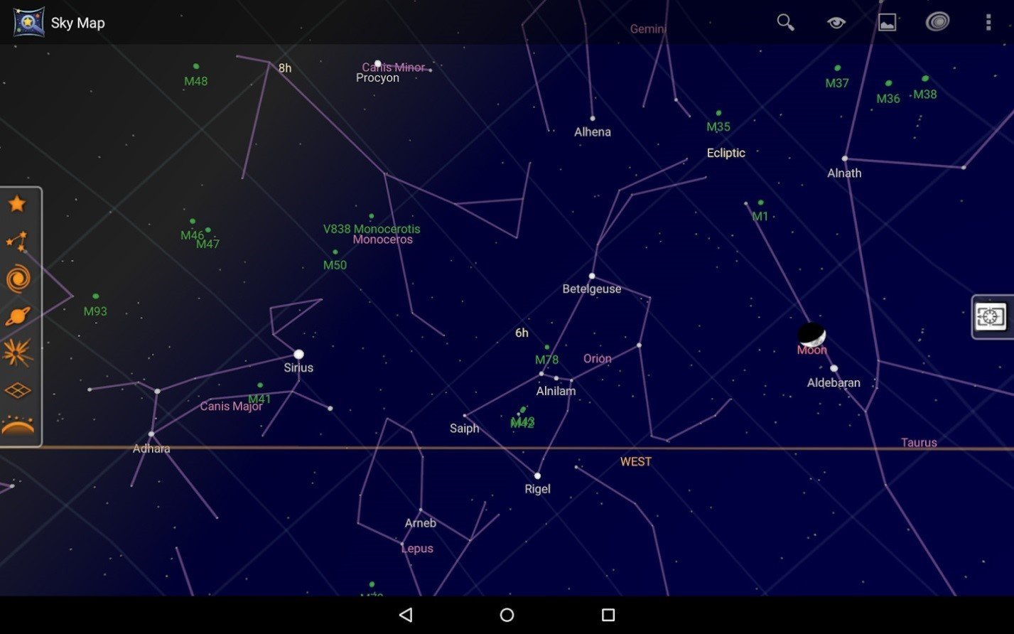 Астрософт для наблюдения за космосом с телефона - 10