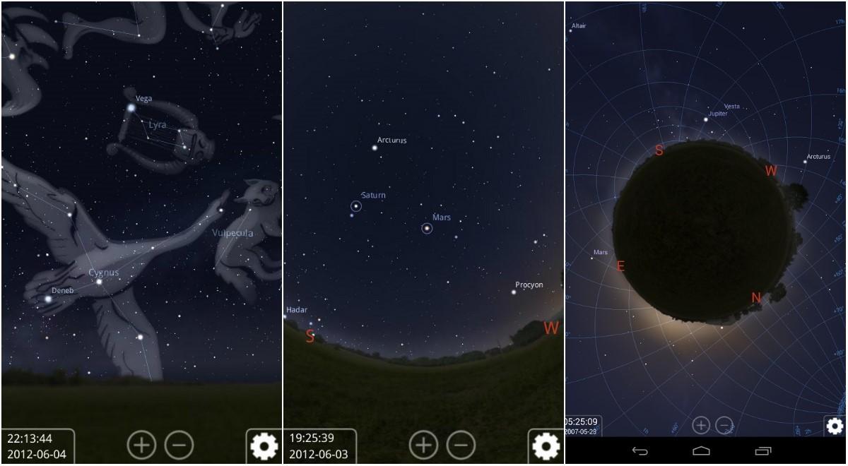 Астрософт для наблюдения за космосом с телефона - 13