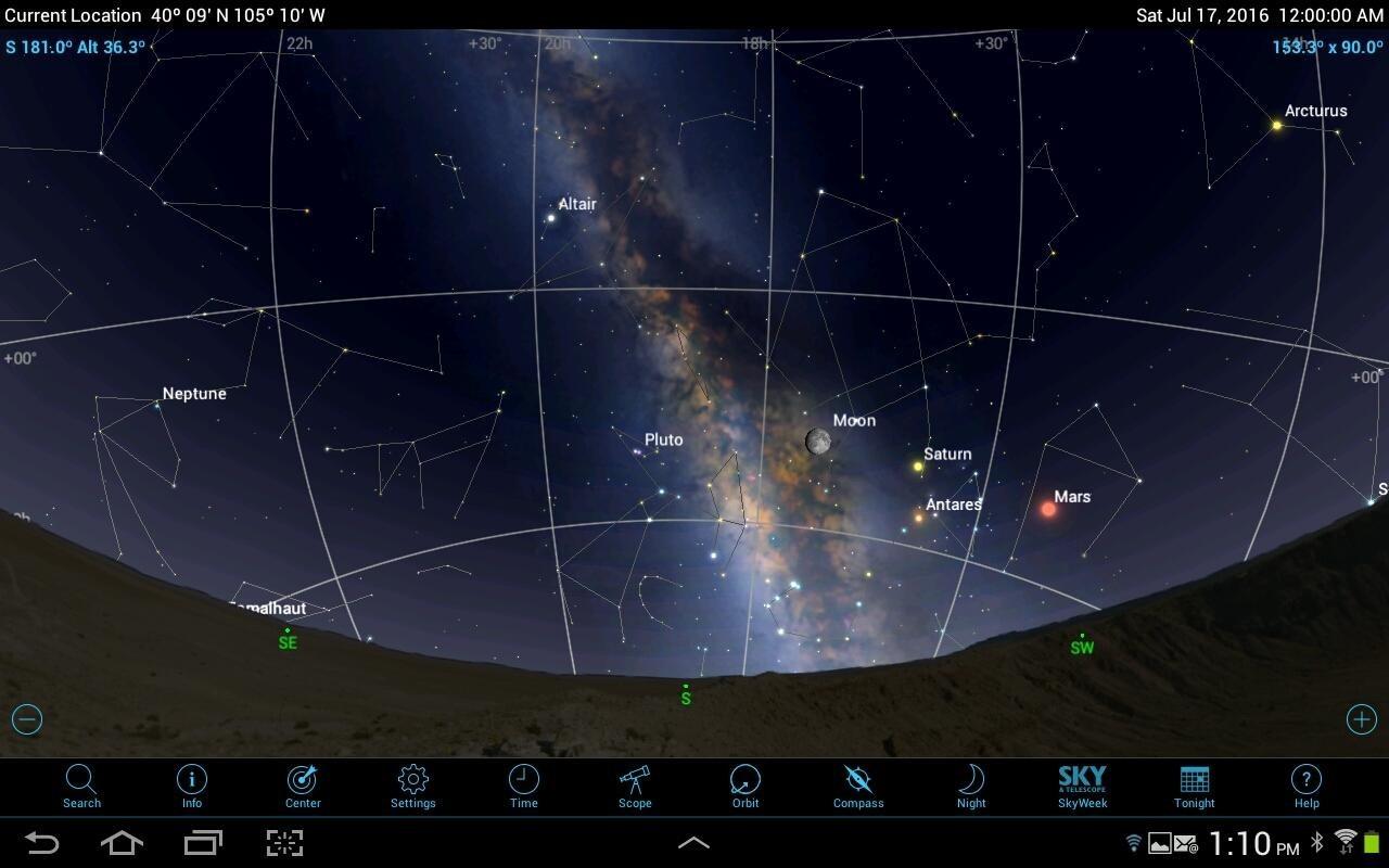 Астрософт для наблюдения за космосом с телефона - 19