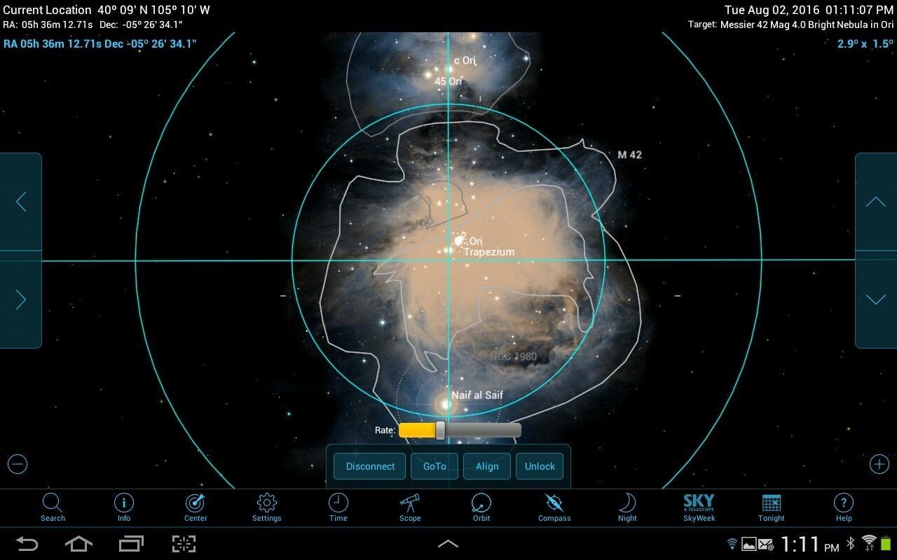 Астрософт для наблюдения за космосом с телефона - 20