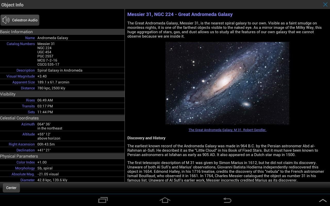 Астрософт для наблюдения за космосом с телефона - 7