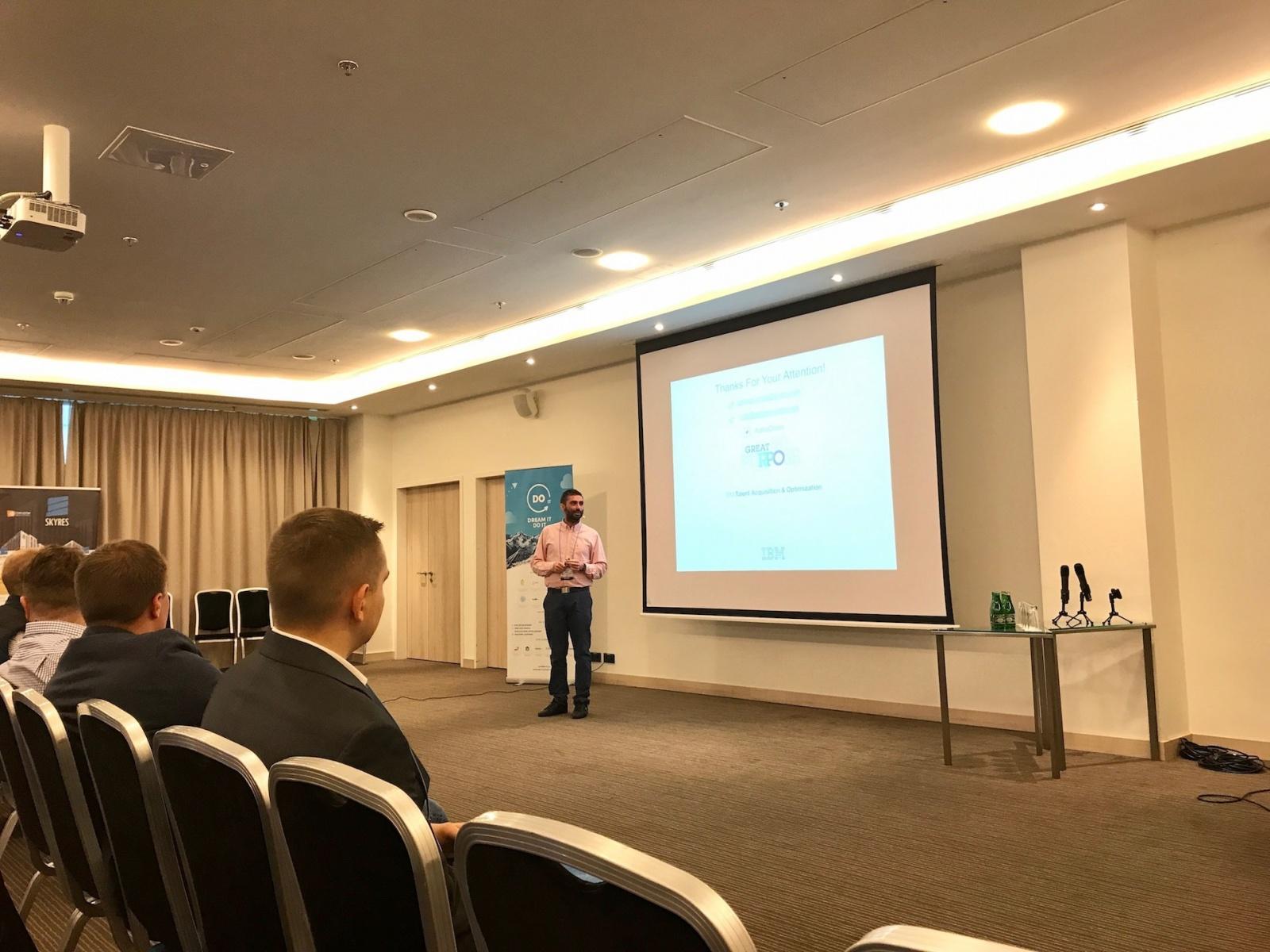 Конференция Outsource-People 2017, Краков (день первый) - 2