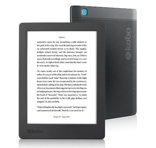 Электронная книга Kobo Aura H2O второго поколения сохранила дисплей E Ink Carta