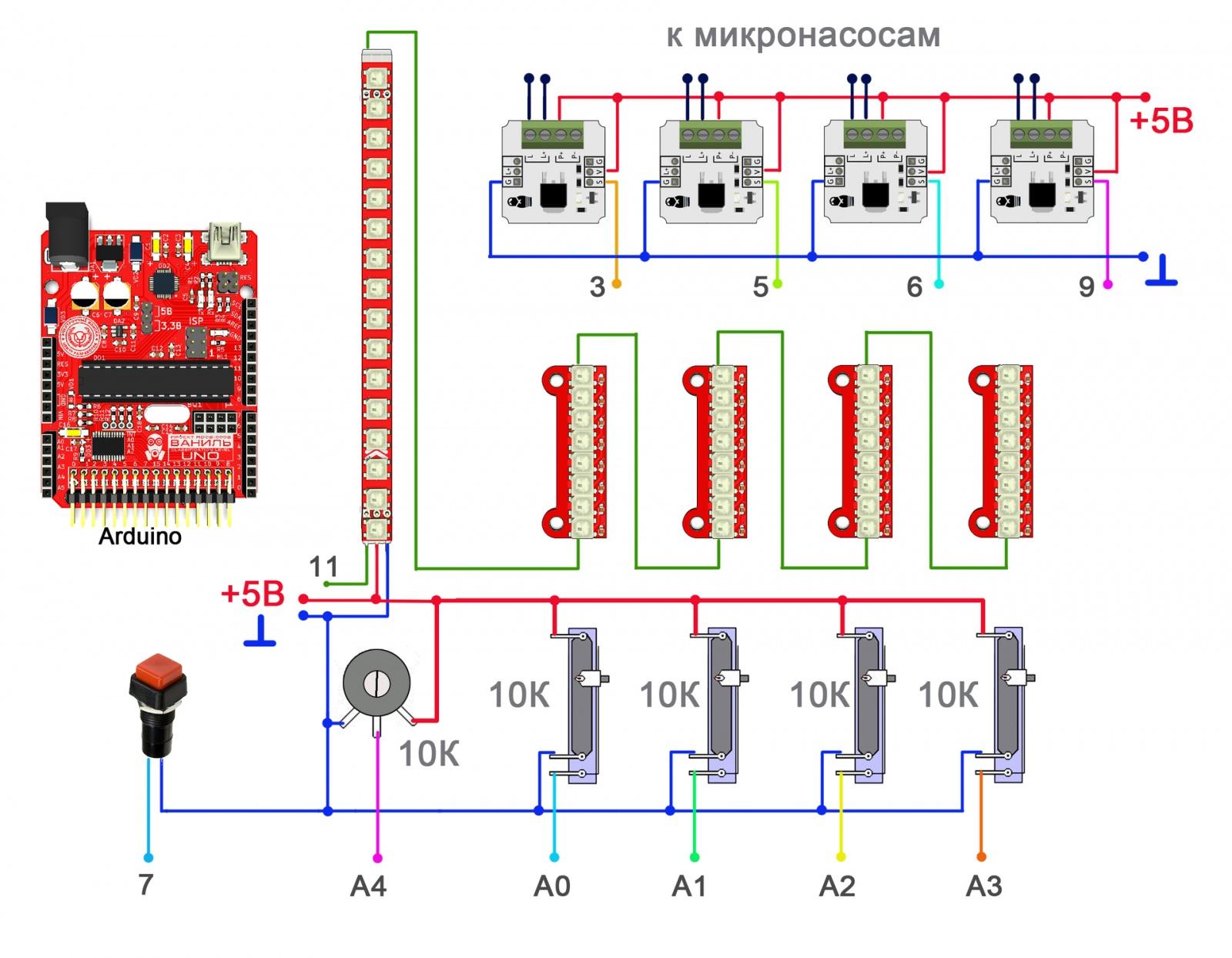 Цифровой бармен. Arduino проект для совершеннолетних начинающих электронщиков. Часть 1 - 2