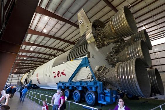 Куда делись ракеты Сатурн 5? - 5