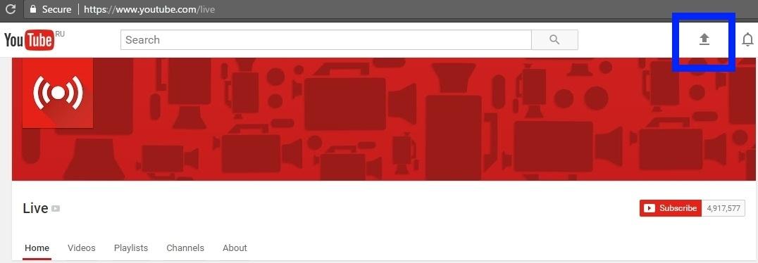 Транслируем видеопоток с веб-страницы по WebRTC на Facebook и YouTube одновременно - 6