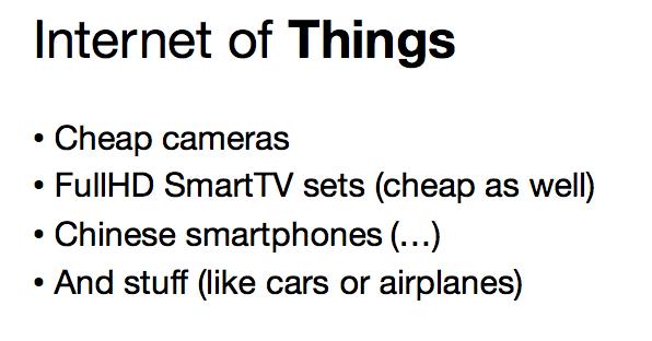 Интернет вещей — маркетинг или реальная угроза - 11