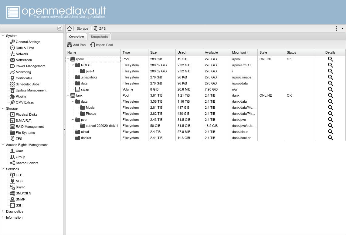 All-In-One: Proxmox + OpenMediaVault или ещё одна идея для домашнего NAS - 4