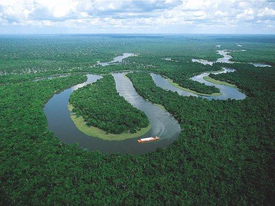 Бассейн реки Амазонки в прошлом был два раза затоплен морем