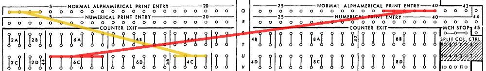 Подготовка налогов в 1950-м году: «программирование» IBM 403 при помощи штекерной панели - 11