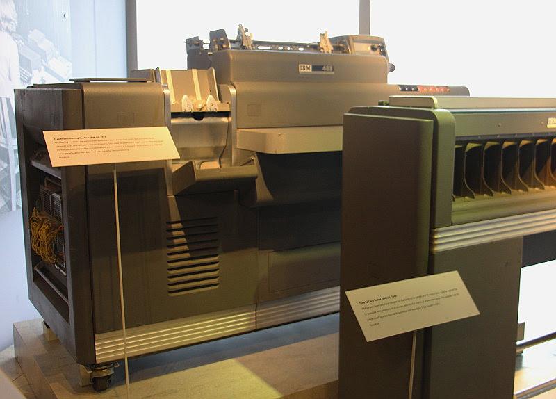 Подготовка налогов в 1950-м году: «программирование» IBM 403 при помощи штекерной панели - 3