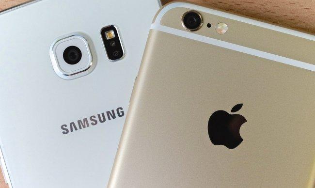 Смартфоны Apple в среднем стоят на $465 больше, чем смартфоны Samsung
